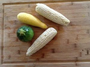 zucchini corn squash