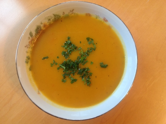 carrot butternut squash soup
