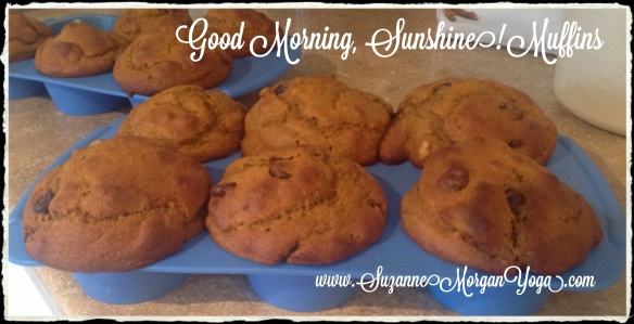 good morning sunshine muffins