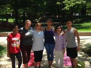 july hot yoga GMU