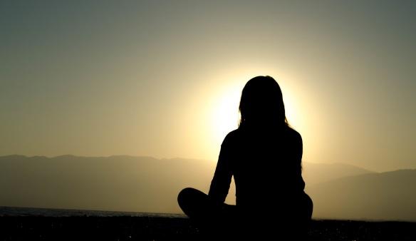 meditation shot