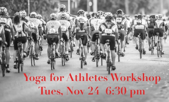 yoga for athletes workshop nov 2015